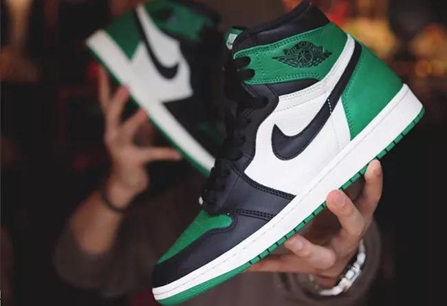 莆田鞋最高品质AJ1黑绿脚趾和公司级区别有多大?