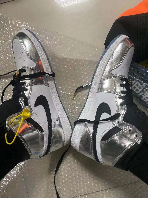 NICE平台卖家手滑34块卖AJ1伦纳德, 1万多的鞋居然真发货