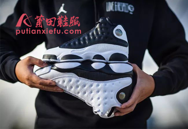 Air Jordan 13 Reverse He Got Game 反转熊猫 真假对比