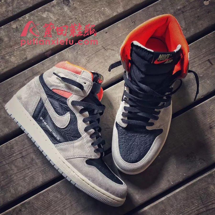 Air Jordan 1 Neutral Grey 灰麂皮 字幕标语 真假对比