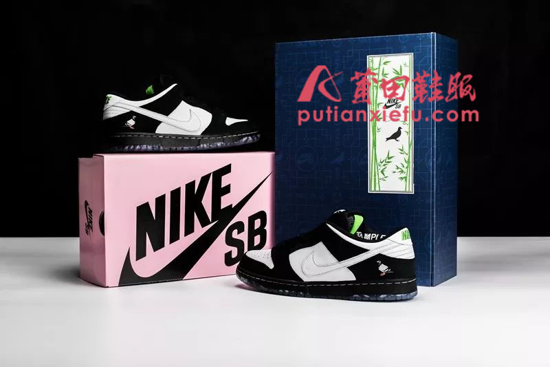 Jeff Staple x Nike Dunk SB Low 黑鸽子 熊猫 真假对比