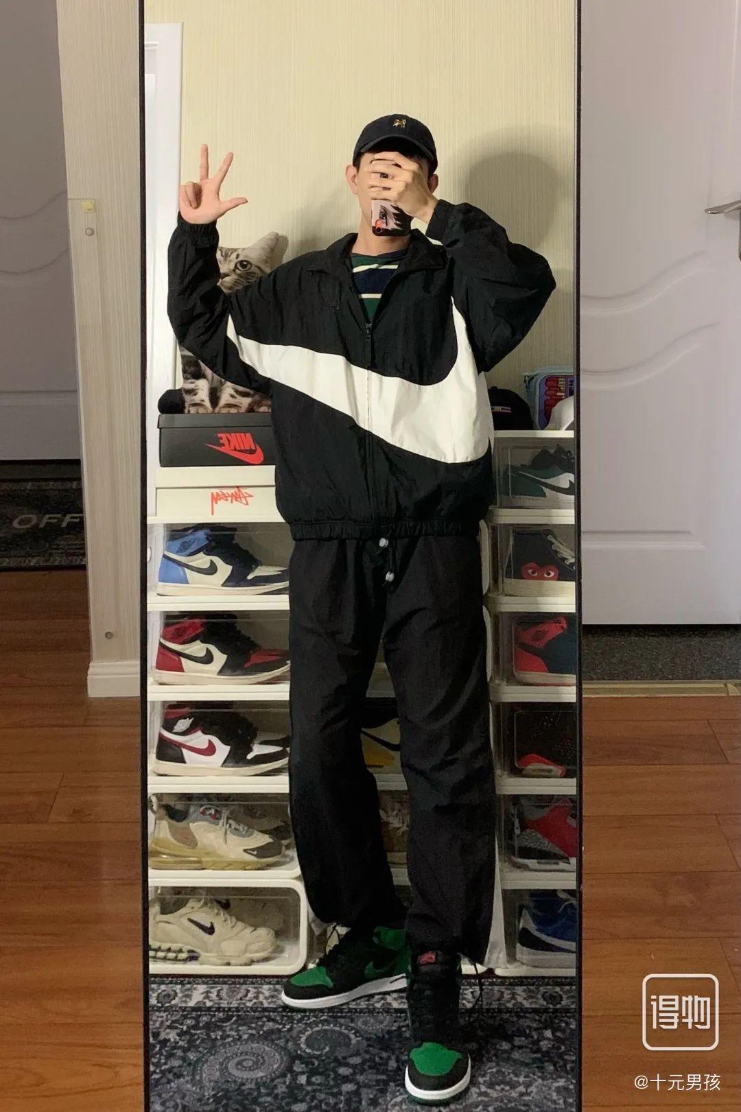 Nike 大钩子夹克外套真假对比避免踩雷!