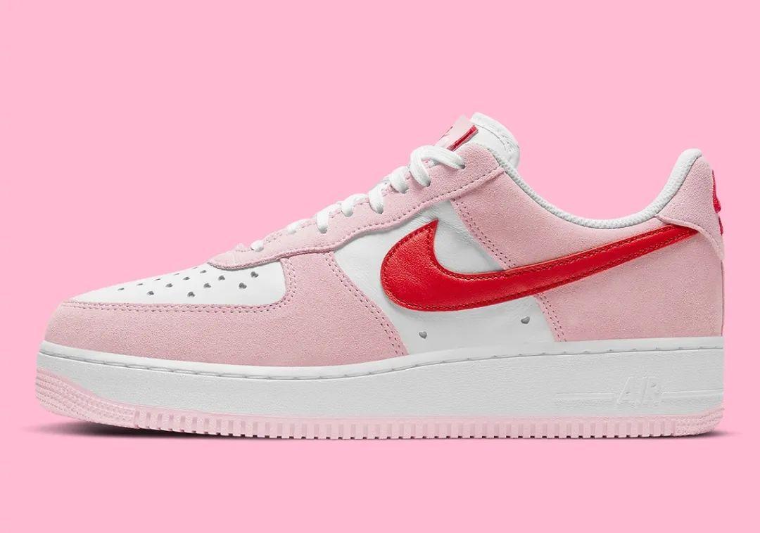 2021年空军情人节Nike Air Force 1于2月6日发售!